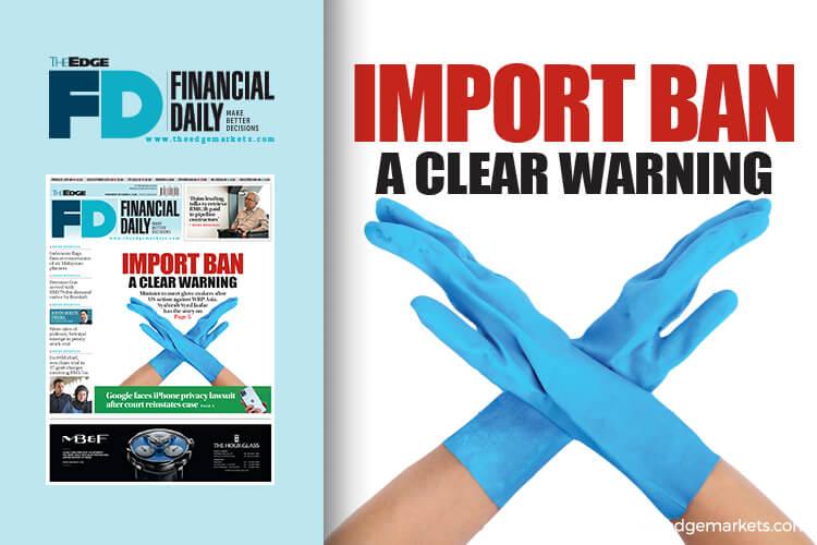 美国禁WRP Asia 对橡胶手套业的明确警告